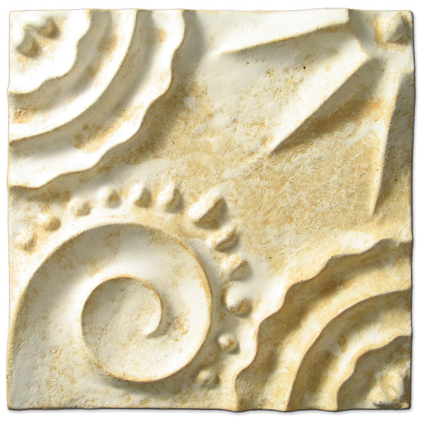 Beginnings Square 6x6 inch Primal White