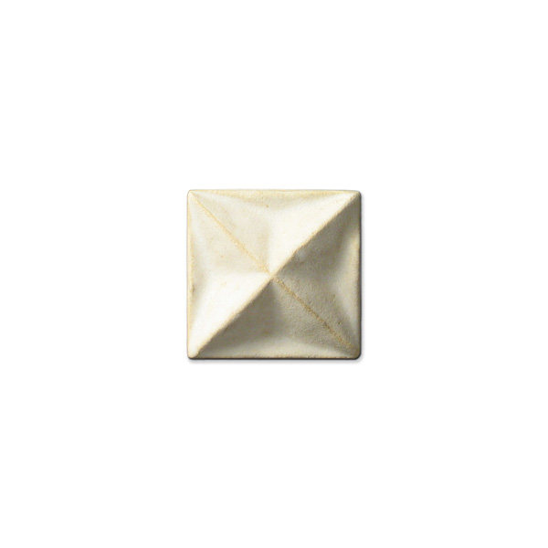 Shadow Star Corner 2x2 inch Ancient White