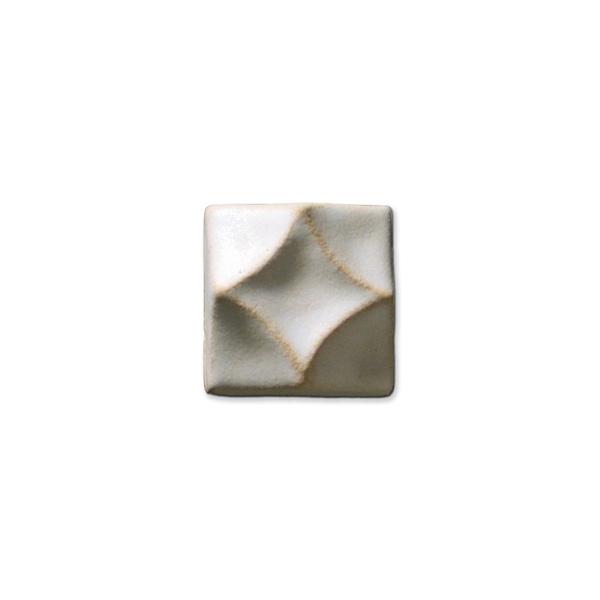 Swan's Diamond 1.375x1.375 inch Ancient White