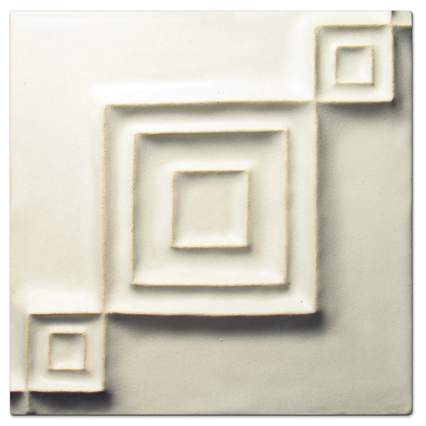 Syncopation 6x6 inch Anciet White