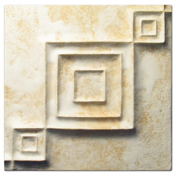 Syncopation 6x6 inch Primal White