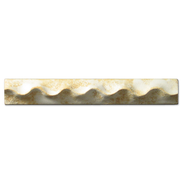 Wavy Liner 1x6 inch Primal White
