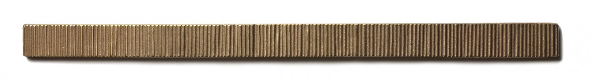 Beach Grass Liner 0.75x12 inch accent liner  Traditional Bronze