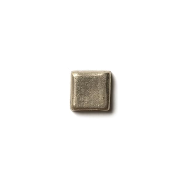 Mantra 0.63x0.63 inch accent tile  White Bronze