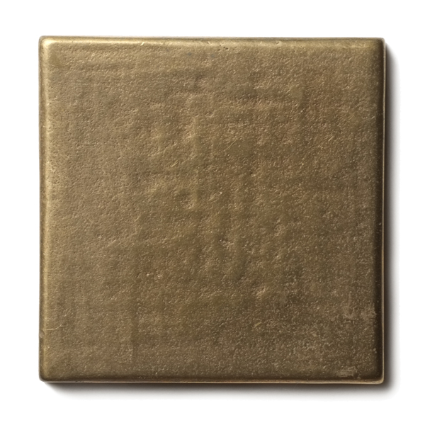 Mantra 2.5x2.5 inch accent tile  Traditional Bronze
