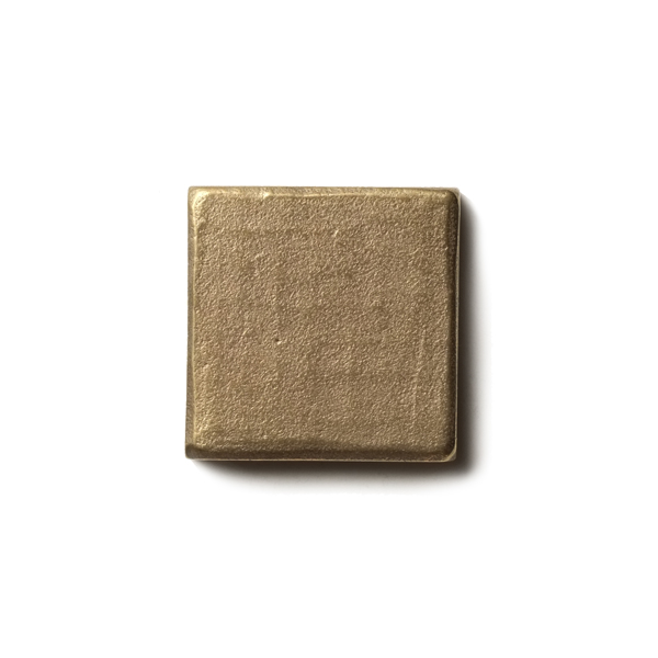 Mantra 1.25x1.25 inch accent tile  Traditional Bronze