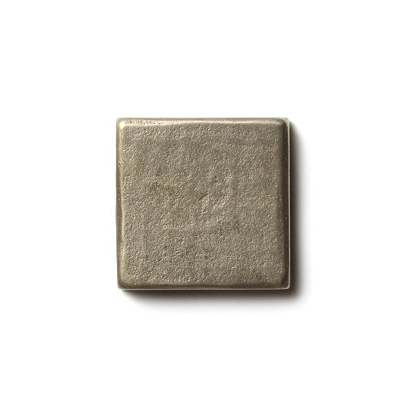 Mantra 1.25x1.25 inch accent tile  White Bronze