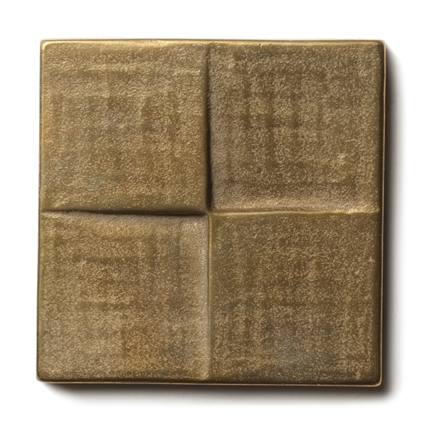 Terrace 2.5x2.5 inch accent tile  Traditional Bronze