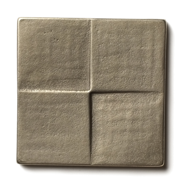 Terrace 2.5x2.5 inch accent tile  White Bronze