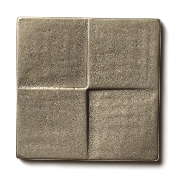 Terrace 2.5x2.5 inch accent tile  White Bronze