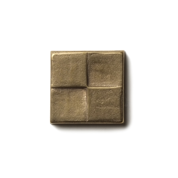 Terrace 1.25x1.25 inch accent tile  Traditional Bronze