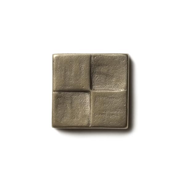 Terrace 1.25x1.25 inch accent tile  White Bronze