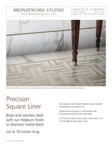 Precision Square Tear Sheet