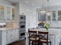 Bronzework Studio Gail Drury Design well dressed white kitchen