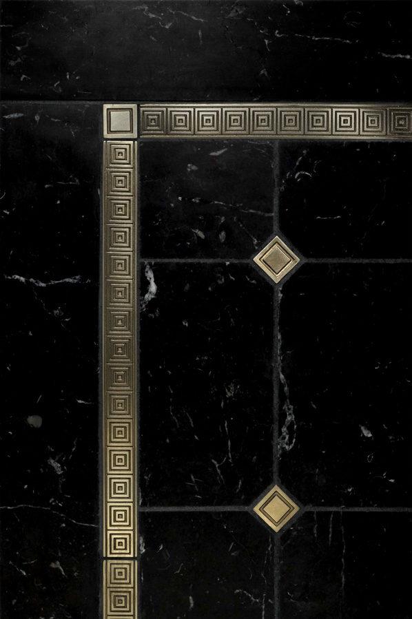 Quadrille Liner, Square Inset - $110