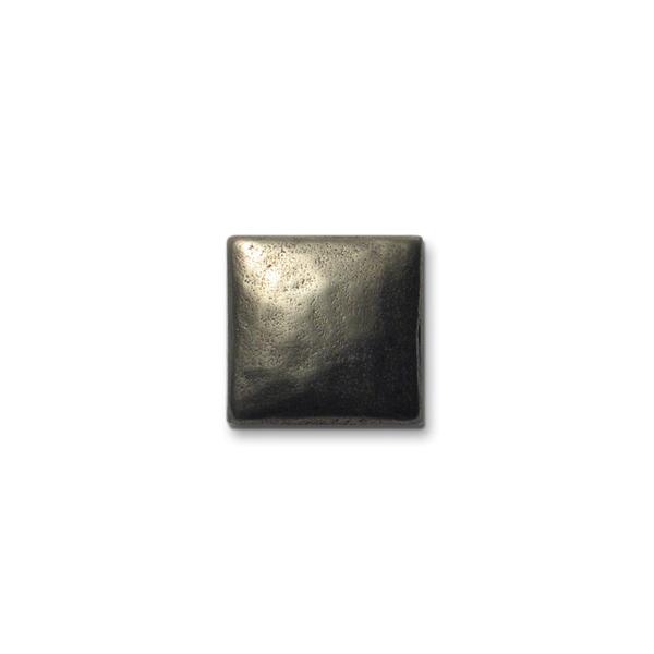 Cabochon 1x1 inch White Bronze