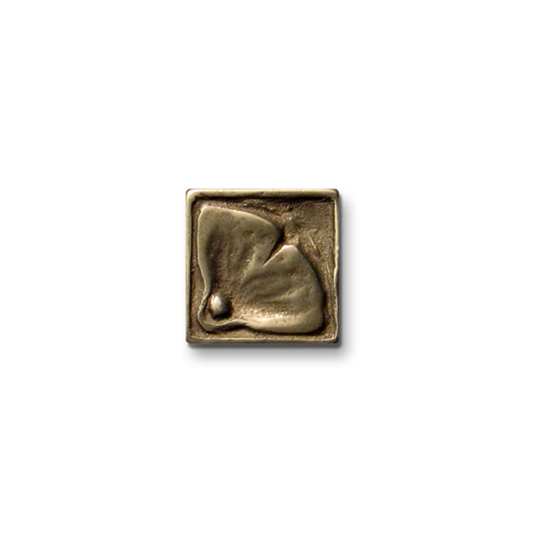 Moon Blossom 1x1 inch Traditional Bronze