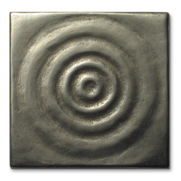 Water 3x3 in White Bronze