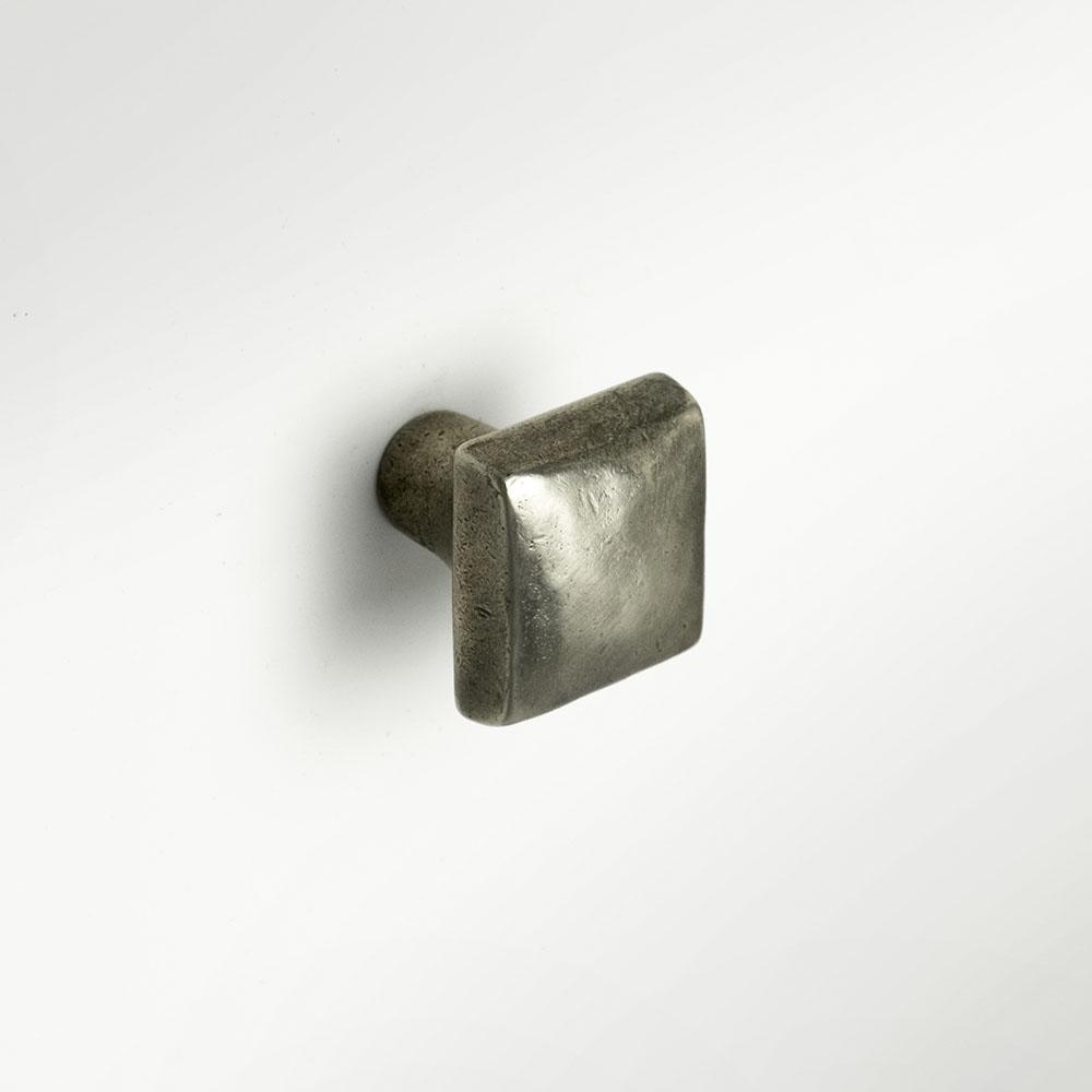 Cabochon 1x1 inch knob Traditional Bronze