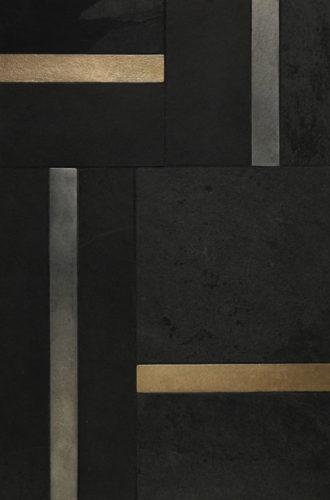 """$115 · Origin Liner · Black Schist · 12x18"""""""