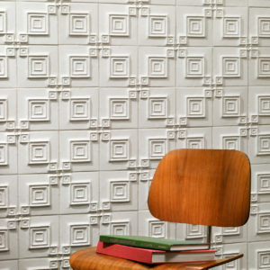 white ceramic tile grid pattern design ideas