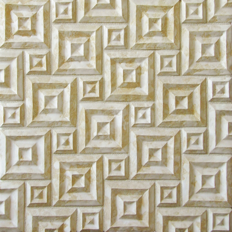 Shadow Square windmill pattern in Primal White